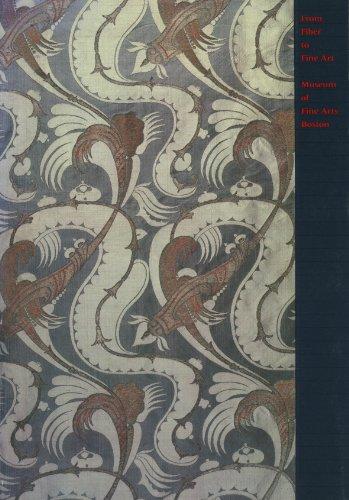9780878461936: From Fiber to Fine Art: Museum of Fine Arts, Boston