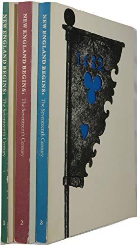 9780878462100: New England Begins: The Seventeenth Century; 3 Volume Set