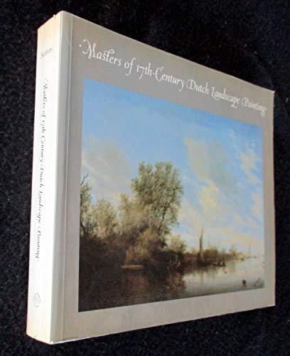 Masters of 17th-Century Dutch Landscape Painting: Sutton, Peter C.