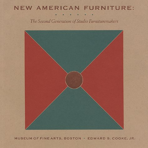 9780878463152: New American Furniture: The Second Generation of Studio