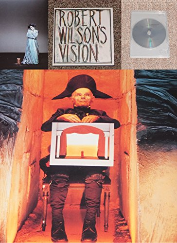 9780878463244: Robert Wilson's Vision - An exhibition of works by Robert Wilson with a sound environment by Hans Peter Kuhn