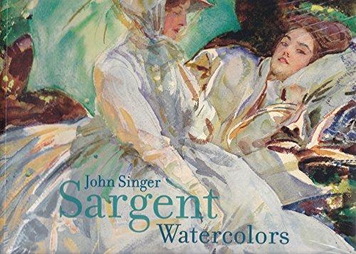 9780878467921: John Singer Sargent Watercolors: Exhibition Catalog