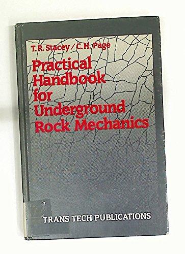 9780878490561: Practical Handbook for Underground Rock Mechanics (SERIES ON ROCK AND SOIL MECHANICS)