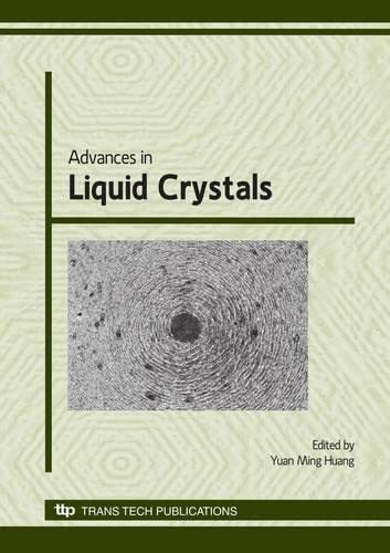 9780878492916: Advances in Liquid Crystals