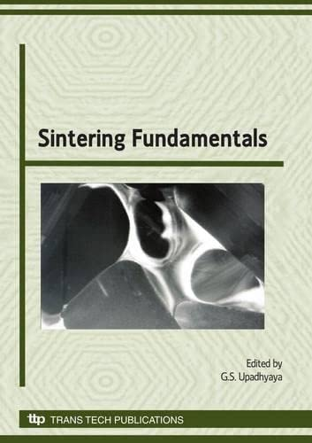 9780878493180: Sintering Fundamentals (Materials Science Forum)