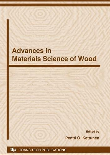 9780878493548: Advances in Materials Science of Wood (Materials Science Forum)