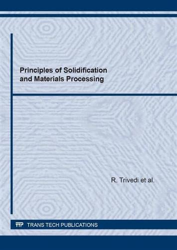 9780878495948: Principles of Solidification and Materials Processing (Pt 1-2)