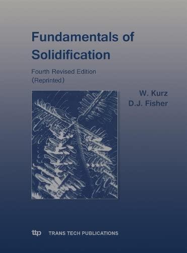 9780878498048: Fundamentals of Solidification