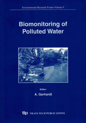 9780878498451: Biomonitoring of Polluted Water: Reviews on Actual Topics (Environmental Research Forum Series, Vol. 9)