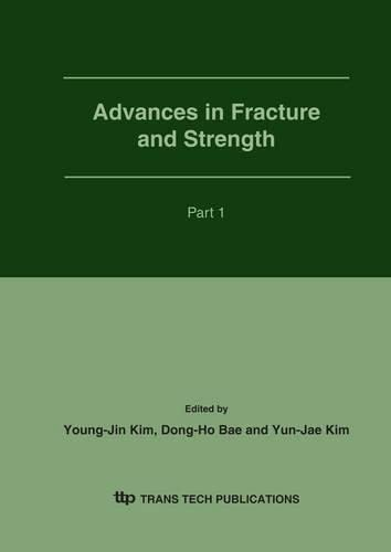 9780878499786: Advances in Fracture And Strength (Key Engineering Materials)