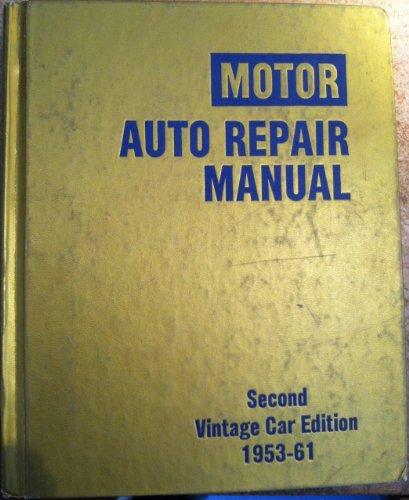 9780878515462: Motor Auto Repair Manual: Second Vintage Car Edition 1953-61