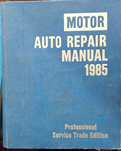 motor auto repair manual book