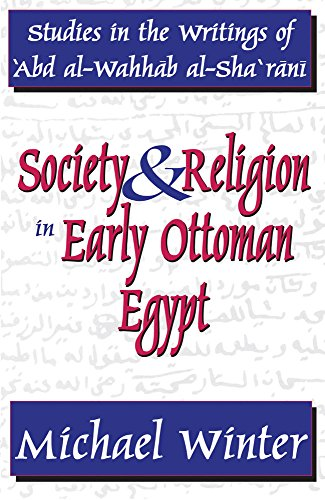 9780878551330: Society and Religion in Early Ottoman Egypt