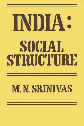 9780878554157: India: Social Structure