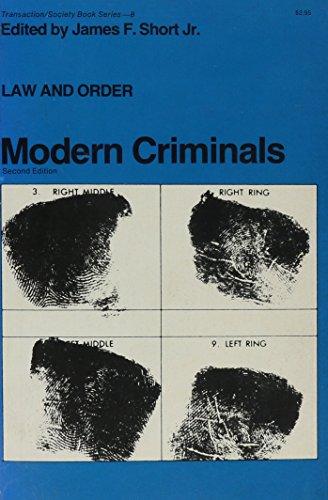 9780878555420: Law and Order: Modern Criminals