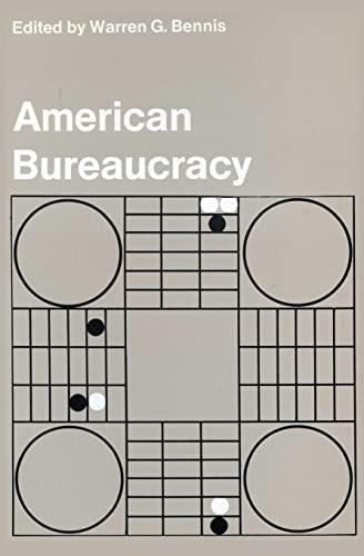9780878555468: American Bureaucracy (Society Books)