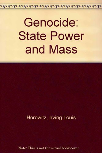 9780878556205: Genocide: State Power and Mass Murder (Issues in contemporary civilization)