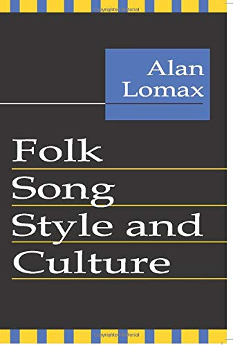 9780878556403: Folk Song Style and Culture