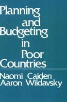 9780878557073: Planning and Budgeting in Poor Countries