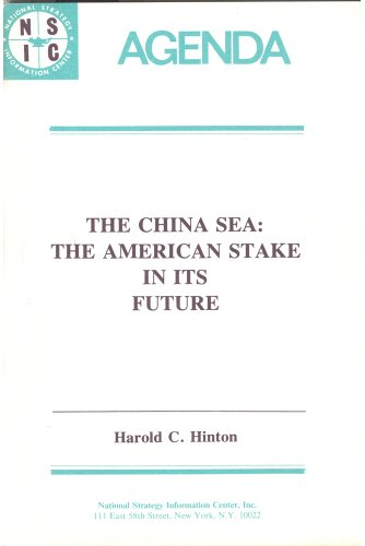 9780878558711: China Sea (Agenda Paper / National Strategy Information Center)