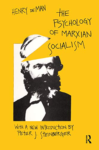 9780878559923: The Psychology of Marxian Socialism (Social Science Classics Series)