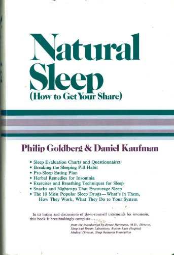 9780878572168: Natural Sleep: How to Get Your Share