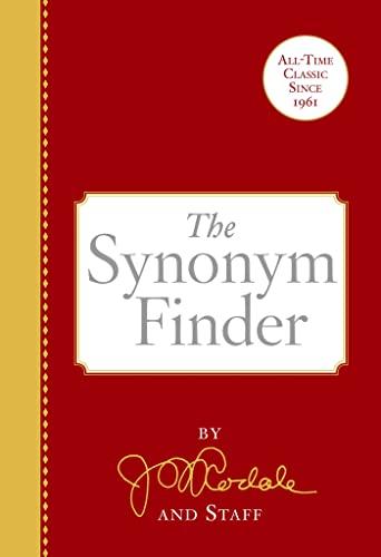 9780878572366: The Synonym Finder