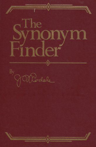 The Synonym Finder (0878572449) by J.I. Rodale