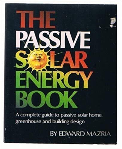 9780878572601: Passive Solar Energy Book