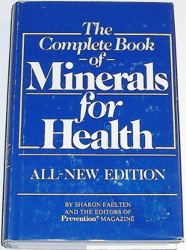 9780878573608: The Complete Book of Minerals for Health