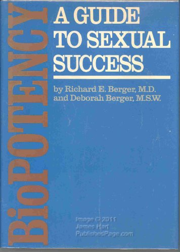 9780878576562: Biopotency: A Guide in Sexual Success