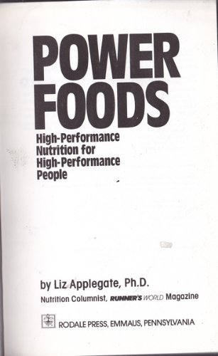 9780878579679: Power Foods: High-Performance Nutrition for High-Performance People