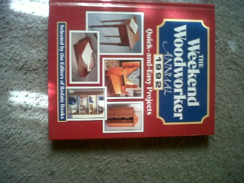 Weekend Woodworker Annual 1992 (0878579885) by William H. Hylton