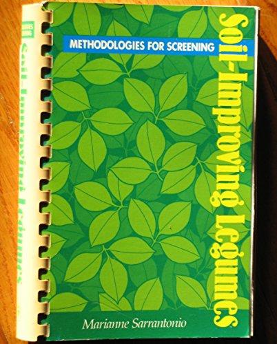 Methodologies for Screening Soil-Improving Legumes: Sarrantonio, Marianne
