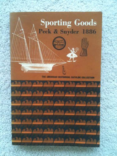 9780878610143: Sporting goods;: Sports equipment and clothing, novelties, recreative science, firemen's supplies, magic lanterns and slides, plays and joke books, ... (American historical catalog collection)
