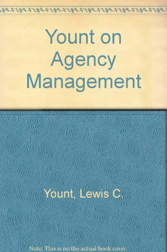 Yount on Agency Management: Yount, Lewis C.