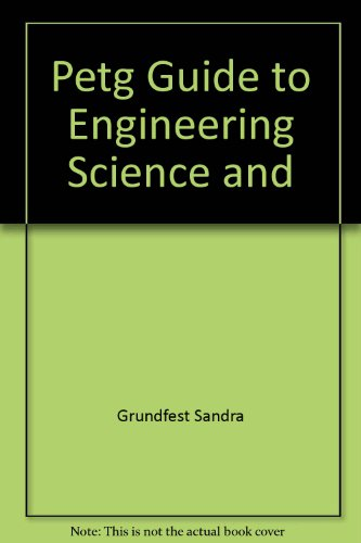 9780878662043: Petg Guide to Engineering Science and