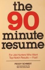 9780878669974: The 90-minute resume