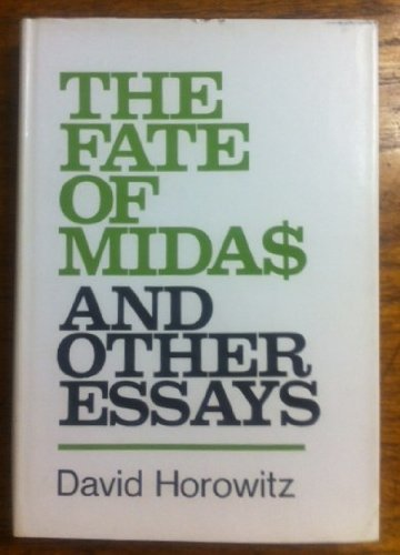 9780878670321: Fate of Midas and Other Essays