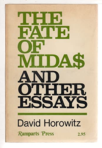9780878670338: Fate of Midas and Other Essays