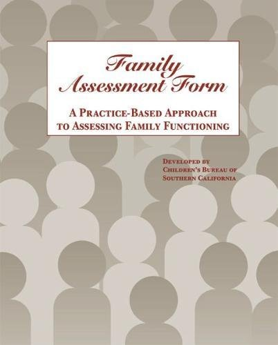 9780878686889: Family Assessment Form: A Practice-Based Approach to Assessing Family Functioning