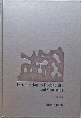 9780878720040: Introduction to Probability and Statistics, 3rd Edition, 1971