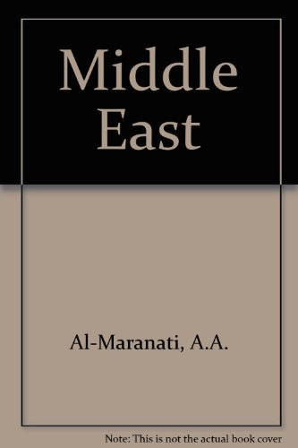 The Middle East: its governments and politics,: Marayati, Abid A