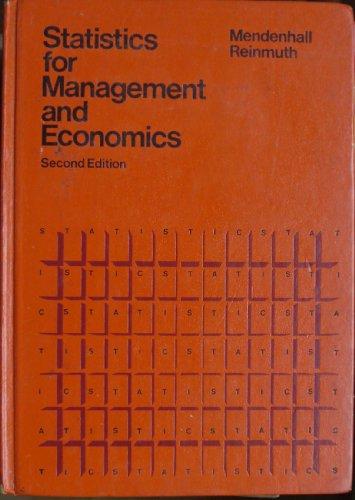 9780878720583: Statistics for Management and Economics