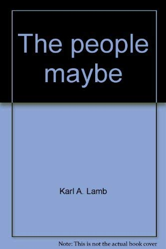 9780878720613: The people, maybe (Duxbury Press series in politics)