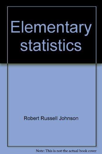9780878721023: Elementary statistics