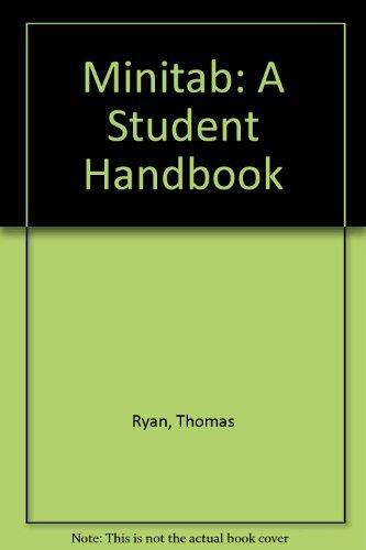 9780878721160: Minitab Student Handbook