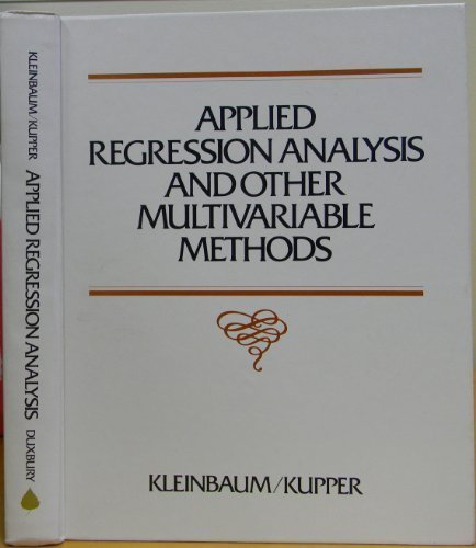 9780878721399: Applied Regression Analysis and Other Multivariable Methods
