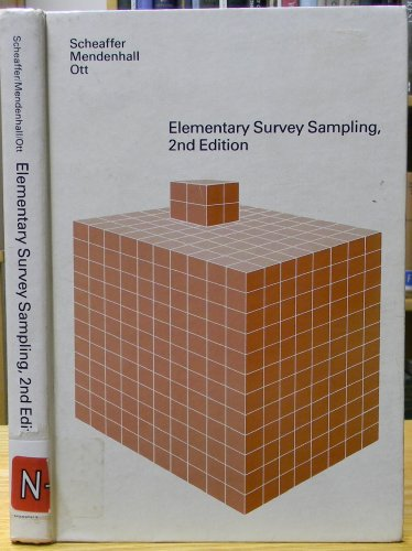 9780878721702: Elementary Survey Sampling