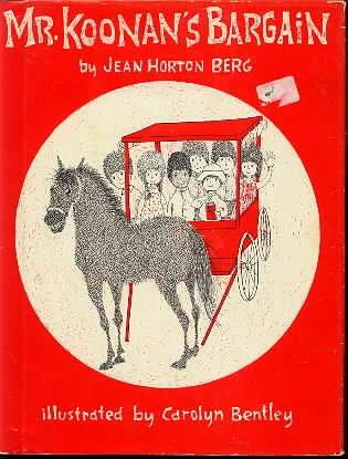 Mr. Koonan's Bargain.: BERG, Jean Horton.